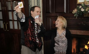 dinner party entertainment magician nyc