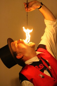 Fire Eating Magician, fire eater NY, NJ, CT